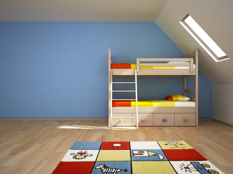 kinder teppiche teppich modern spielteppich relief gr n blau rot ebay. Black Bedroom Furniture Sets. Home Design Ideas
